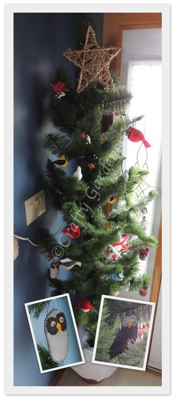 the bird tree at craftygardener.ca