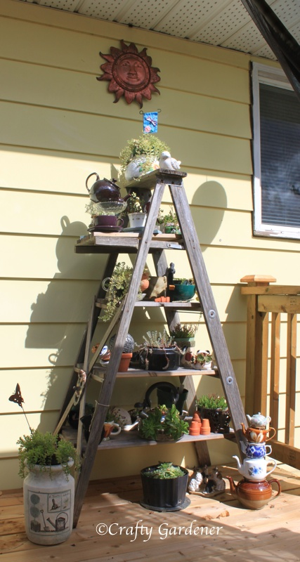 the ladder planter