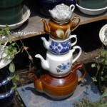 create a teapot totem at craftygardener.ca