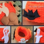 Hallowe'en projects at craftygardener.ca