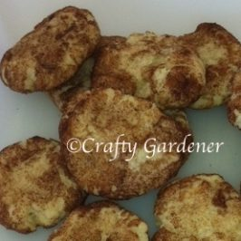 snickerdoodle recipe at craftygardener.ca