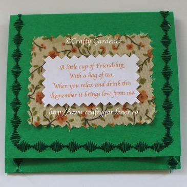 Friendship Tea Card
