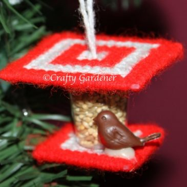 Little Bird Feeder Ornaments