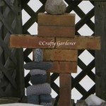 my brick inuksuk at craftygardener.ca