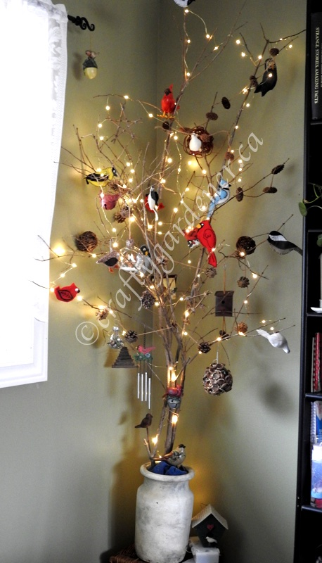 a Nature tree at craftygardener.ca