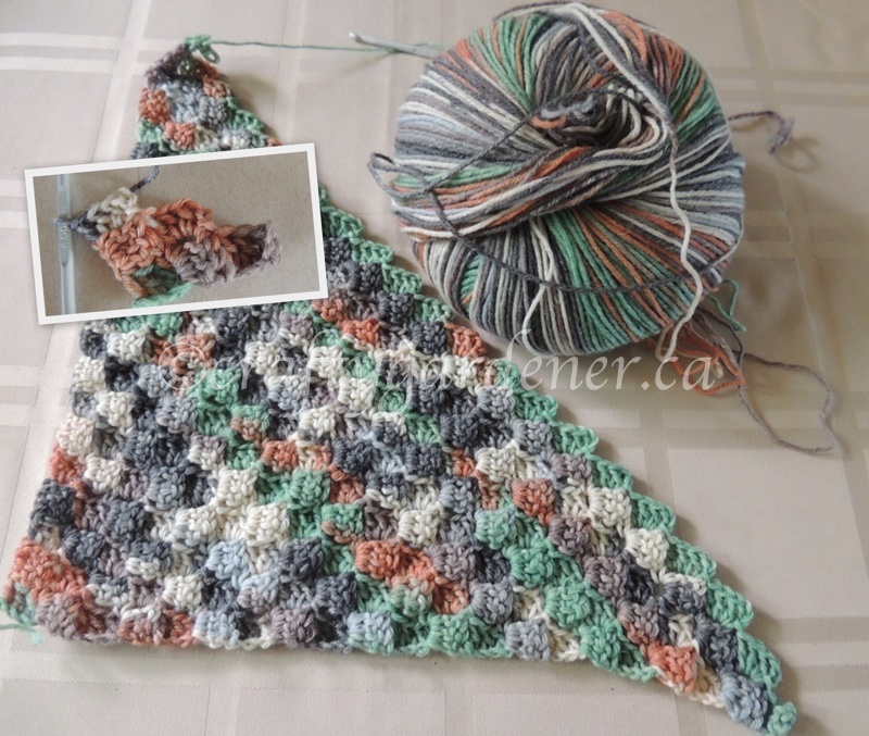 Life Way Shawl by lovemademyhome at craftygardener.ca