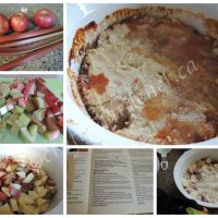 Printable Rhubarb Apple Crumble Recipe