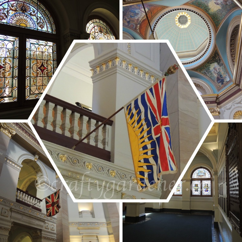 he BC legislative buildings in Victoria, British Columbia