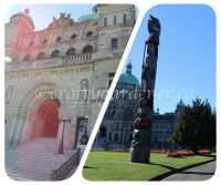 the BC legislative buildings in Victoria, British Columbia