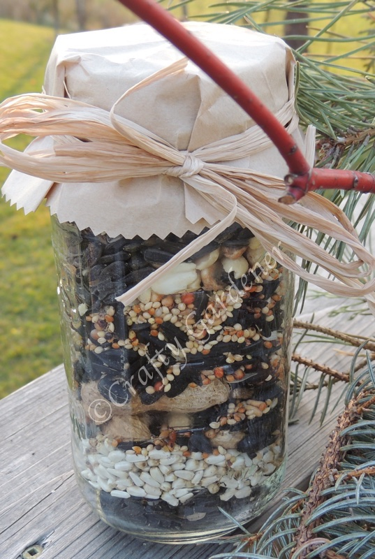 a gift for the bird watcher at craftygardener.ca