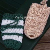 water bottle cozies at craftygardener.ca