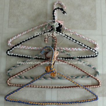 Braided Wire Coat Hangers