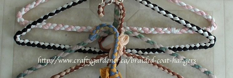 Braided Wire Covered Coathanger Pattern