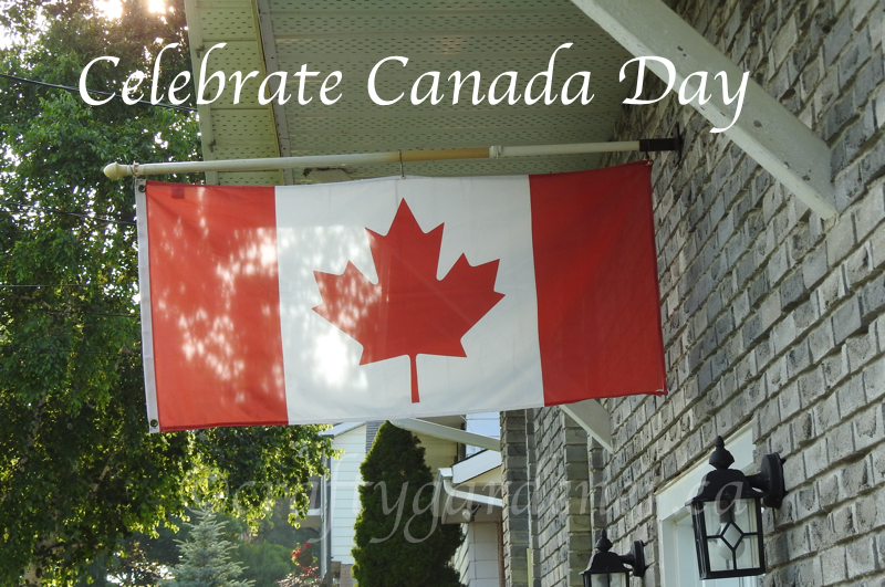 Celebrate Canada Day at craftygardener.ca