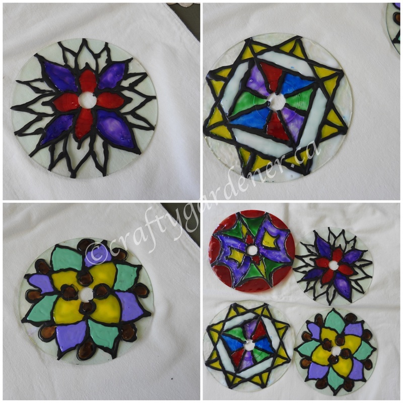 how tomato a stained glass cd at craftygardener.ca