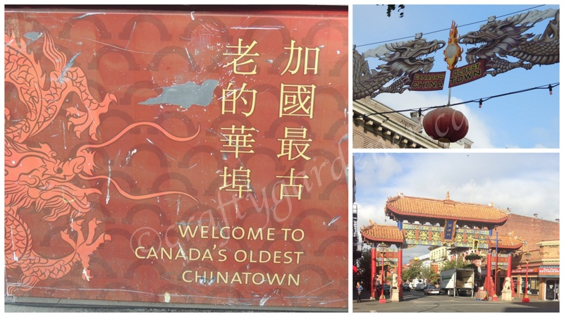 Canada's oldest China Town i Victoria, British Columbai