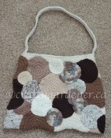 making a circle bag at craftygardener.ca