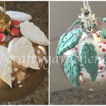 Clay Embellished Ornaments