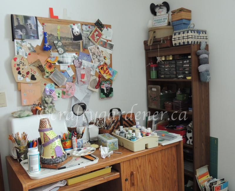 The Dabbling Room at craftygardener.ca