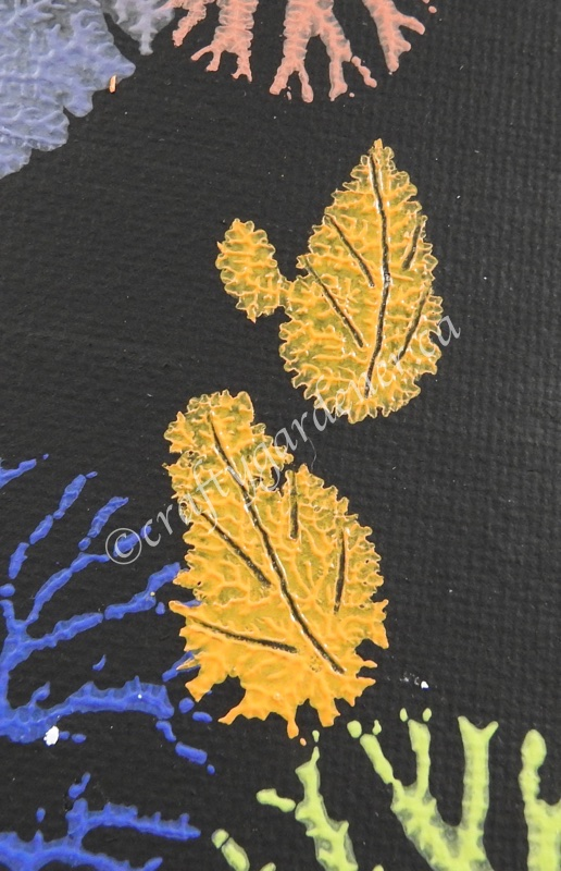 dendritic painting at craftygardener.ca