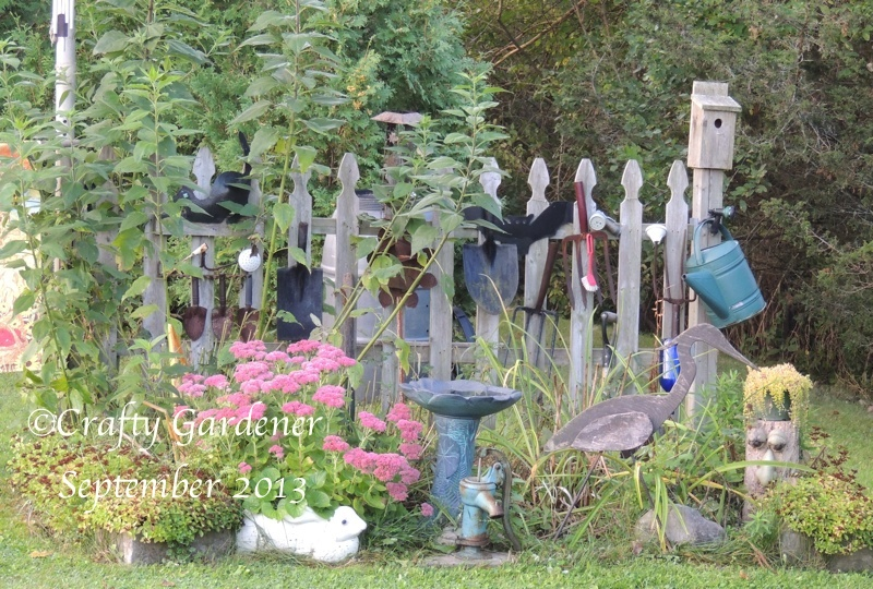 Heading into Fall with the Fence Garden