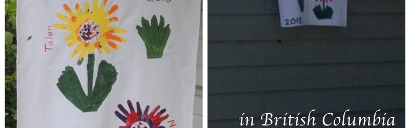 Making a Garden Flag