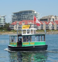 the harbour ferries in Victoria, British Columbia