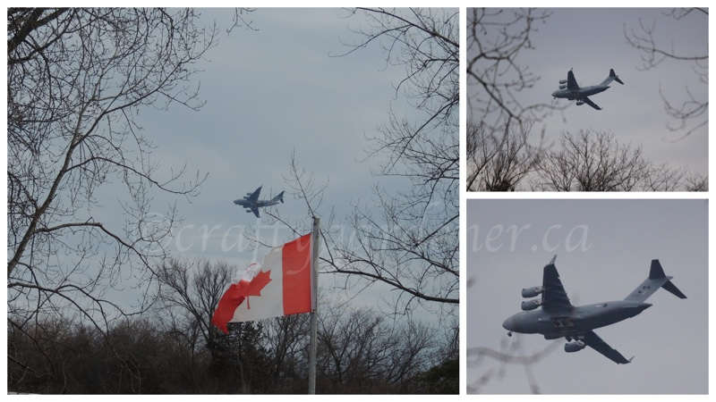 last flight of the hercules planes out of CFB Trenton