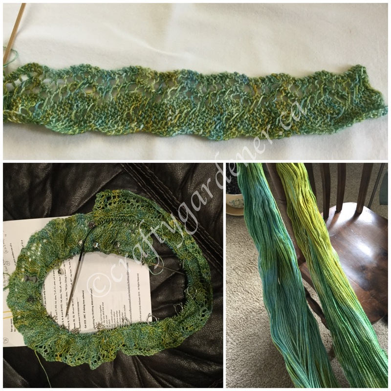 yarn crawl mystery pattern at craftygardener.ca