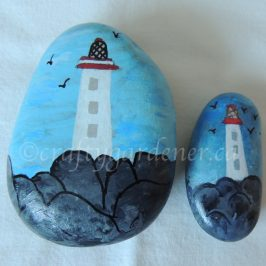 the lighthouse rocks at craftygardener.ca