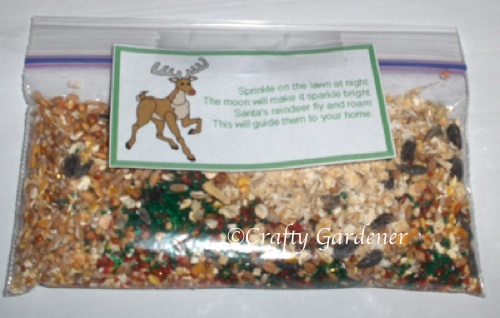 magic reindeer food at craftygardener.ca