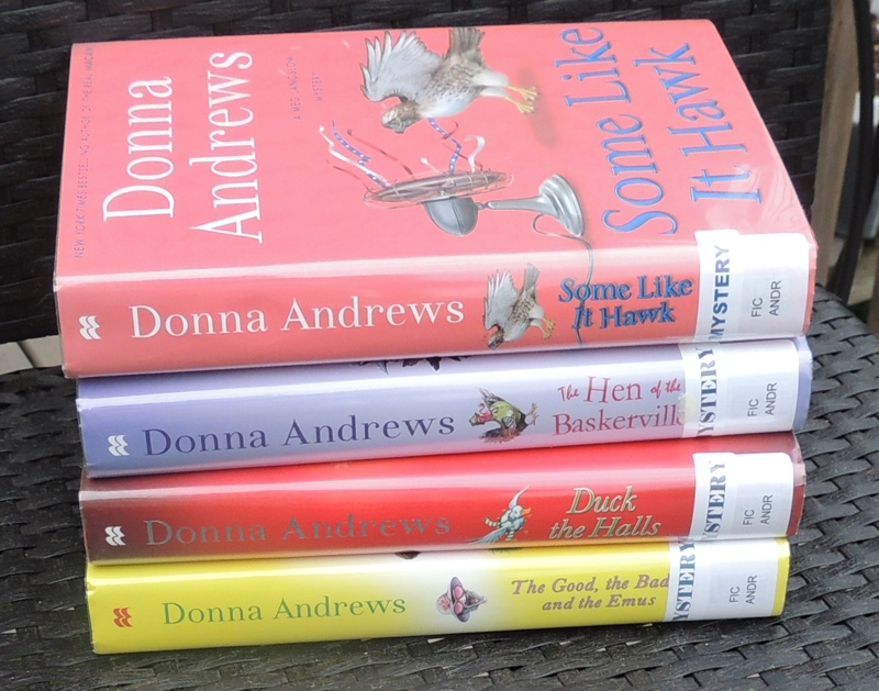 a book series by Donna Andrews at craftygardener.ca