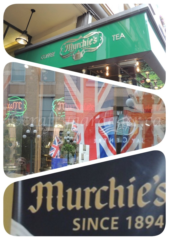 Munchie's tea store in Victoria, BC