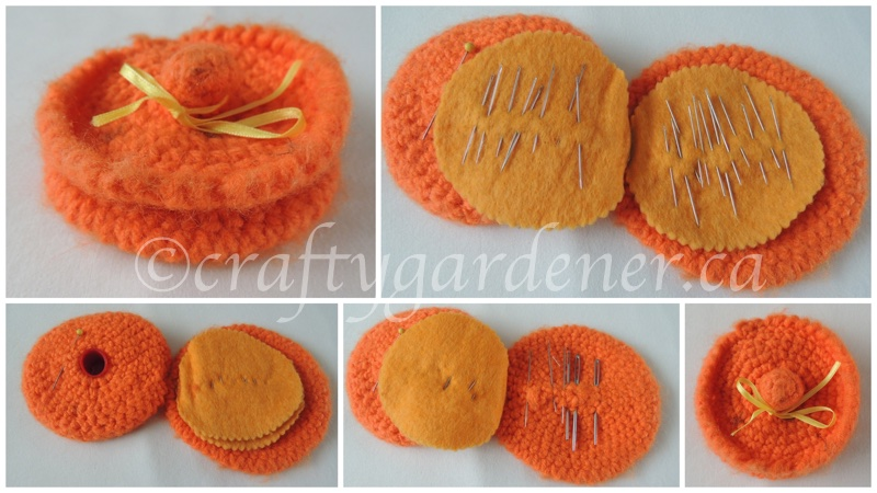 a crochet needle case at craftygardener.ca