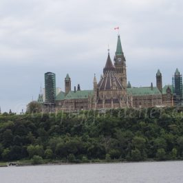 Parliament Hill from the Ottawa River at craftygardener.ca
