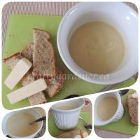 parsnip and apple soup made at craftygardener.ca