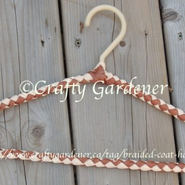 Braided Covered Plastic Coathanger Pattern