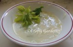potato soup recipe at craftygardener.ca