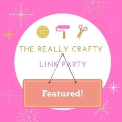 Really Crafty Featured button