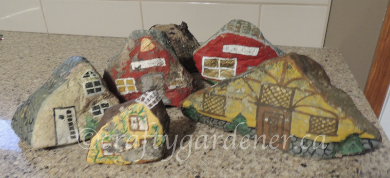repairing the rocking' village at craftygardener.ca