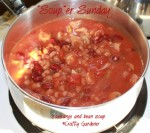 "'Soup""er Sunday - Sausage and Bean Soup"