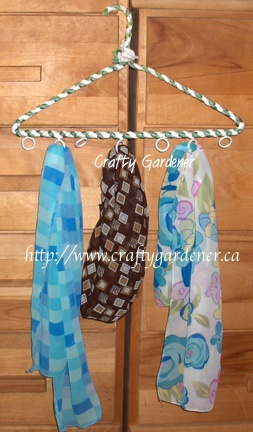 scarf storage at craftygardener.ca