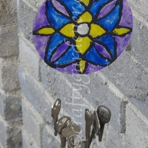 Stained Glass Keychimes