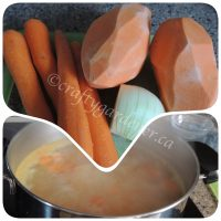 'Soup'er Sunday - Sweet Potato & Carrot Soup