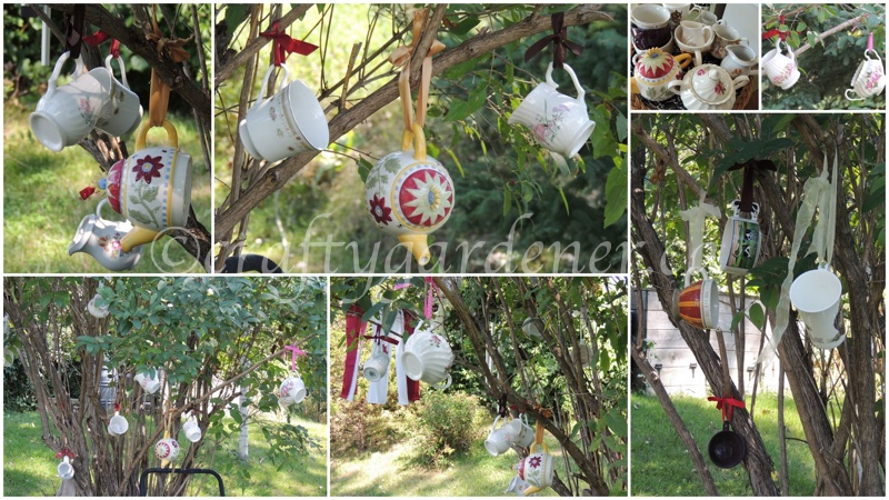 the tea time tree at craftygardener.ca