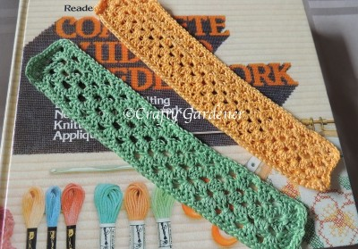 Crochet Bookmark Pattern on Pinterest