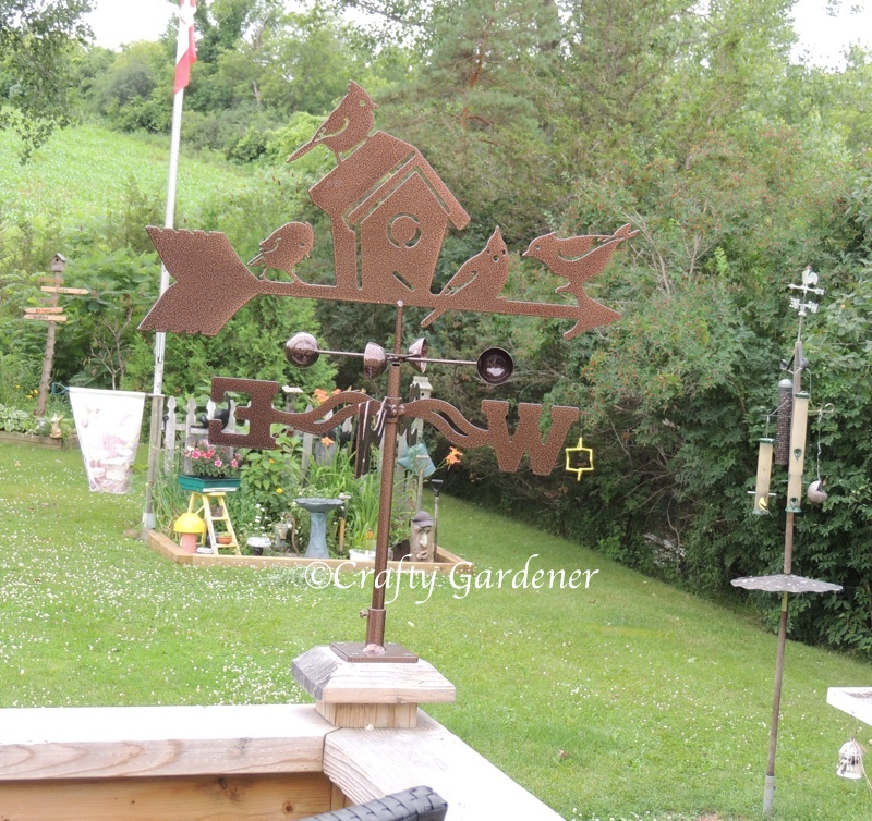 weather vane from The UnconVentional mOOse