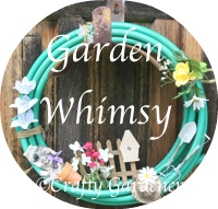 garden whimsy at http://www.craftygardener.ca