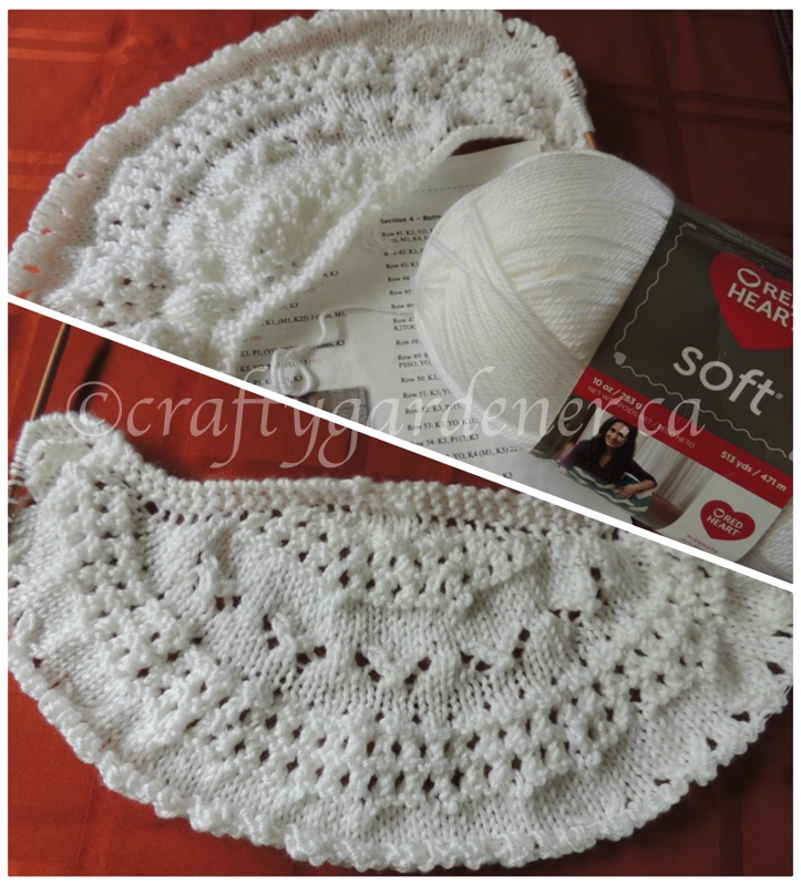 white summer flies shawl at craftygardener.ca
