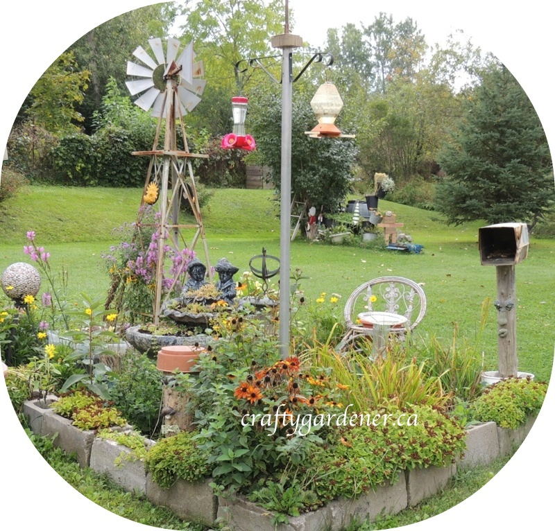 the windmill garden at craftygardener.ca